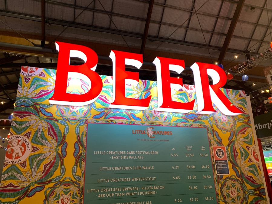 GABS is short for Great Australian Beer Spectacular and it certainlyis!